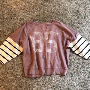 NEW Free People pullover Sweatshirt XS